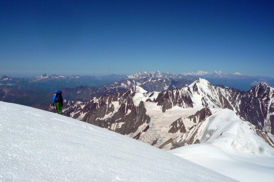 Kasbek Gipfelplateau