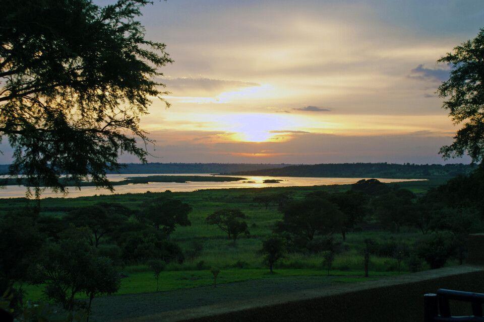 Sonnenuntergang im Fort Murchison