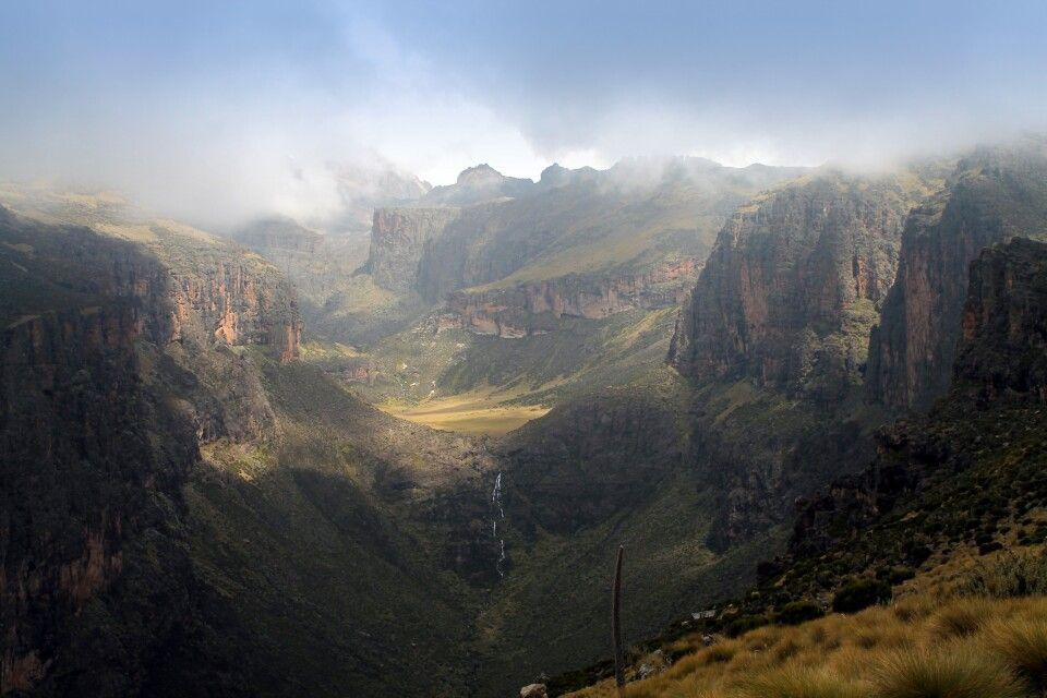 Chogoria-Schlucht, Mount Kenya