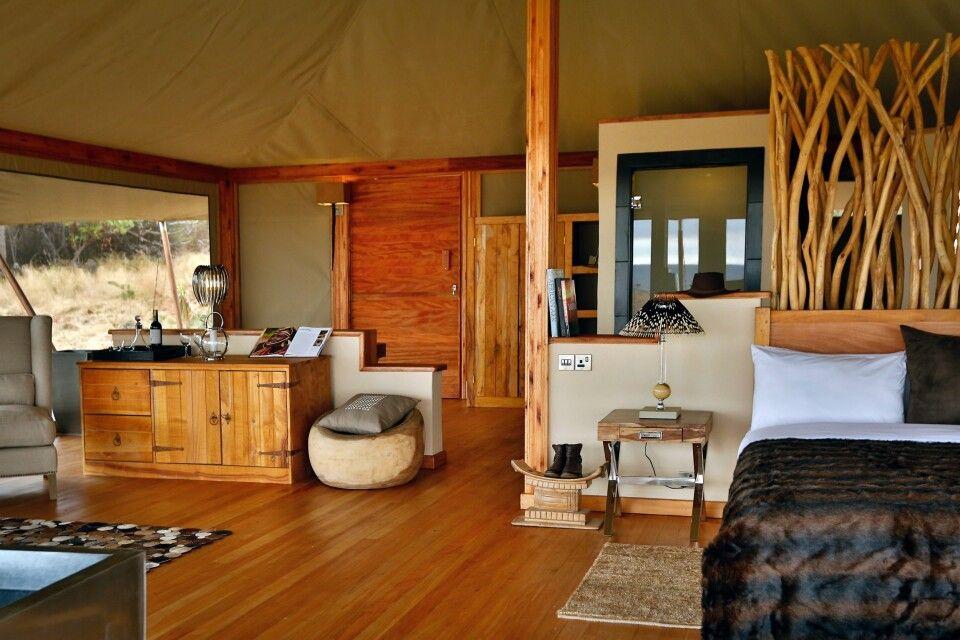 Zelt im Loisaba Tented Camp