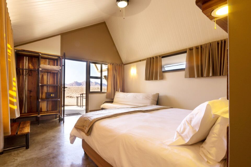 Desert Quiver Camp, Zimmerbeispiel