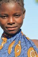 Freundliches Mädchen, Mosambik