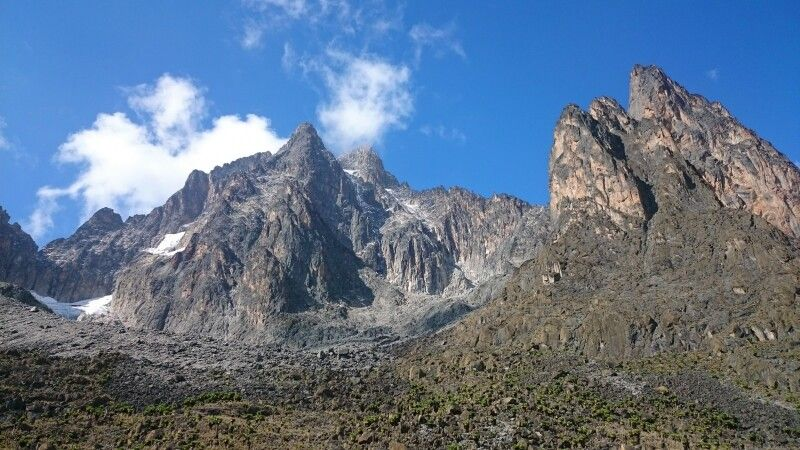 Batian und Nelion, Mount Kenya © Diamir