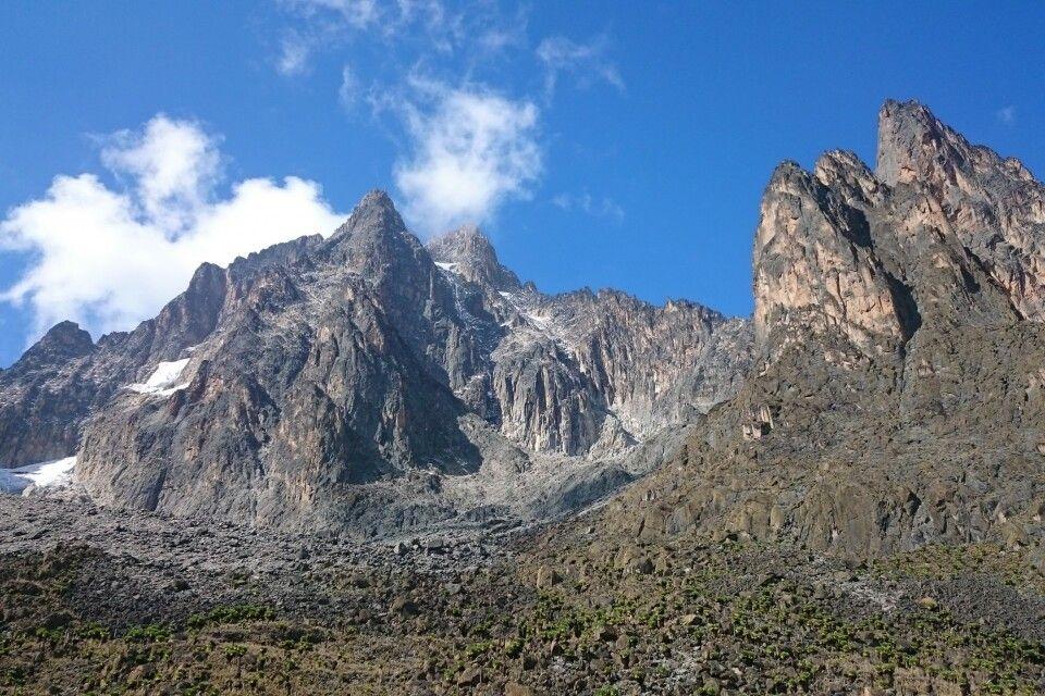 Batian und Nelion, Mount Kenya