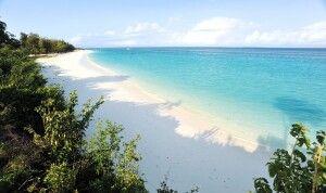 Endlose weiße Strände am Indischen Ozean