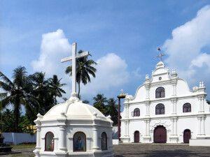Fort Kochi (Mattancherry), Kerala - portugiesische Kirche