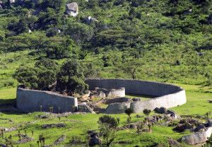 Die Great Zimbabwe Ruinen