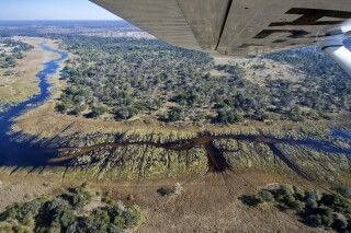 Fly In im Okavango-Delta