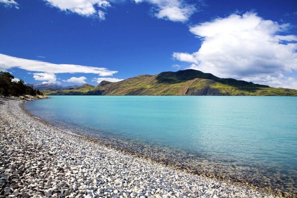 Lago Nordenskjöld im Nationalpark Torres del Paine