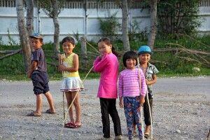 Kirgisische Kinder