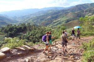 Leichte Wanderung in Mu Cang Chai