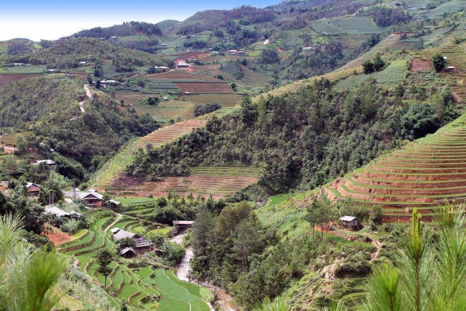 Landschaft von Mu Cang Chai