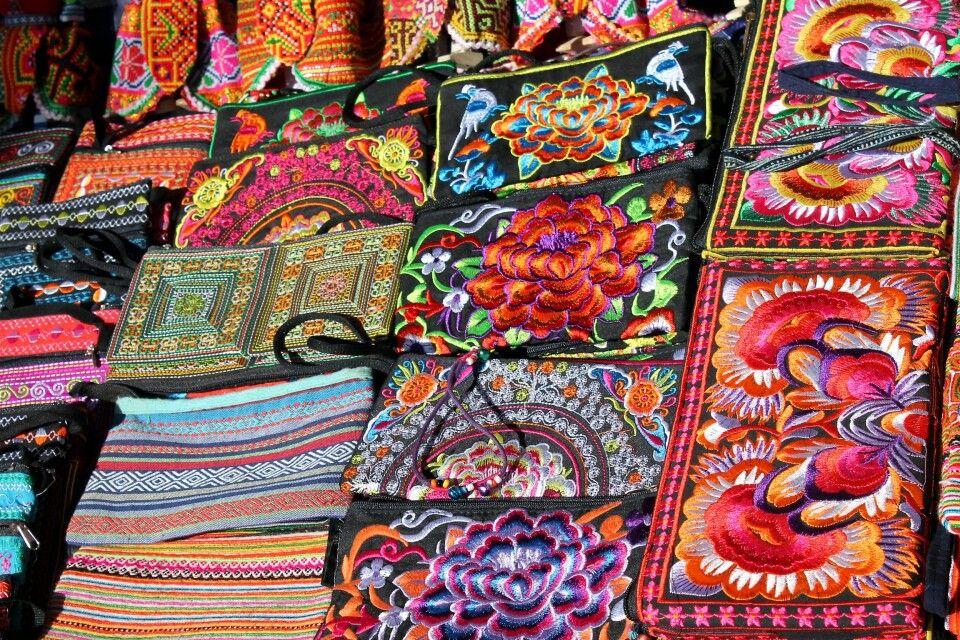 liebevoll gefertigte Handarbeiten – ein beliebtes Mitbringsel aus Vietnam