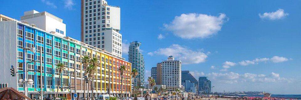 Strandpromenade in Tel Aviv