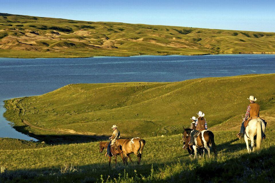 Ausritt La Reata Ranch