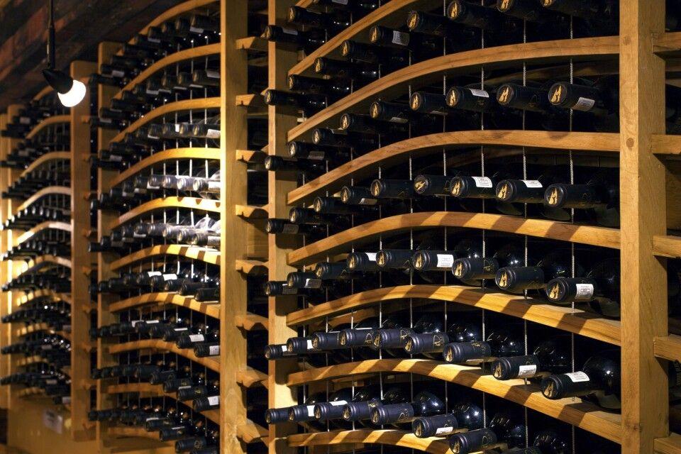 Weinkeller des Anwesens