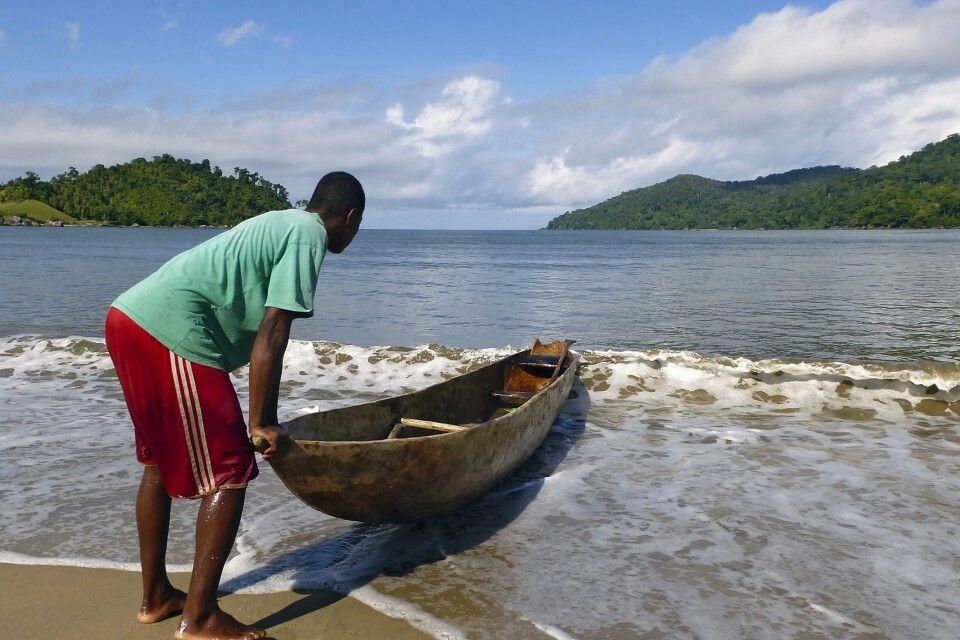 Auf der Masoala Halbinsel