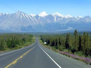 Auf dem Haines Highway im Yukon