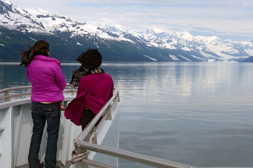 College Fjord, auf der 26 Glacier Cruise bei Whittier, Alaska