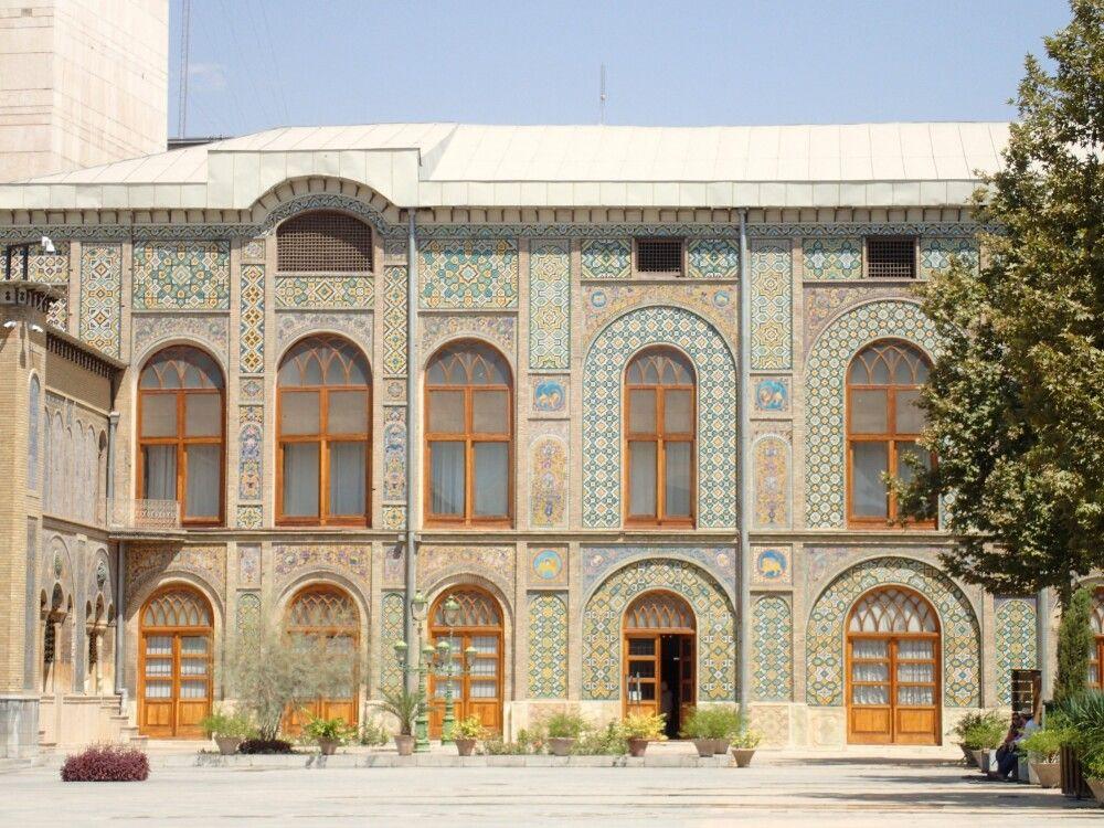 Der Golestan-Palast war Sitz der persischen Herrscher.