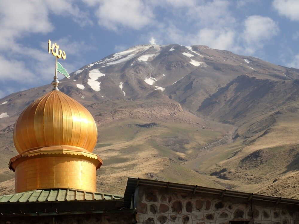 Blick zum Damavand (5761m)