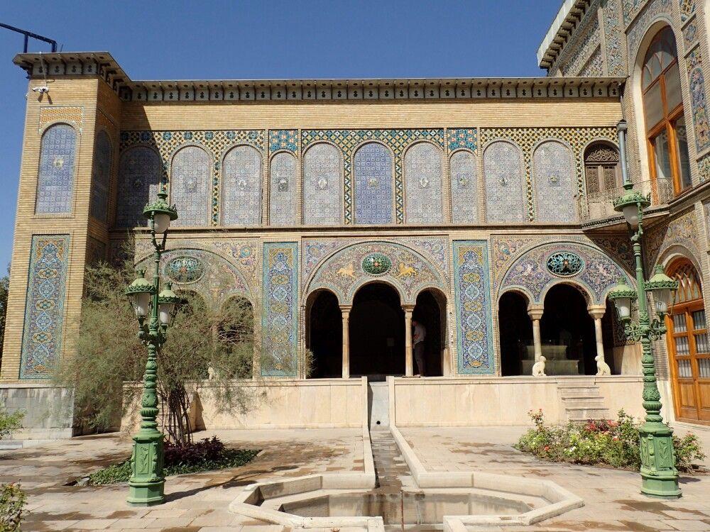 Der Golestan-Palast in Teheran gehört zum Weltkulturerbe der UNESCO.
