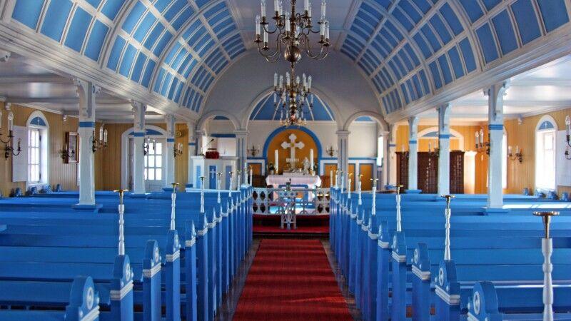 Die Kirche von Narsaq © Diamir