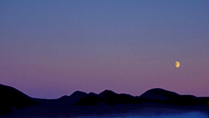Lichtstimmung mit Mond © Diamir