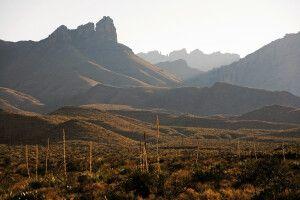 Landschaft in West-Texas