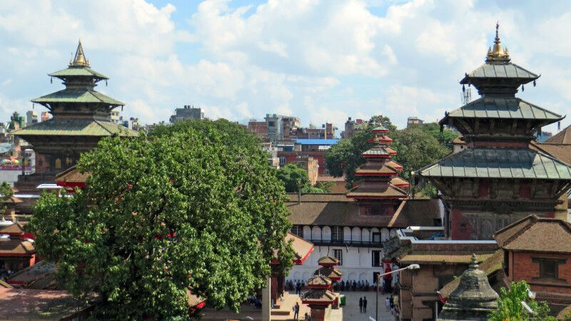 Durbar Square in Kathmandu © Diamir