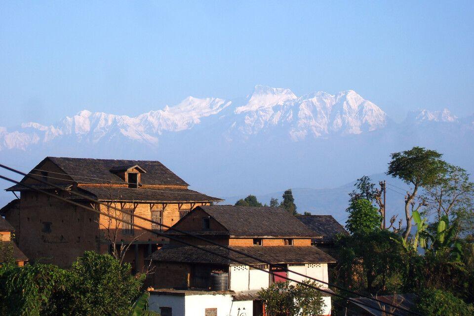 Panoramablick in Bandipur