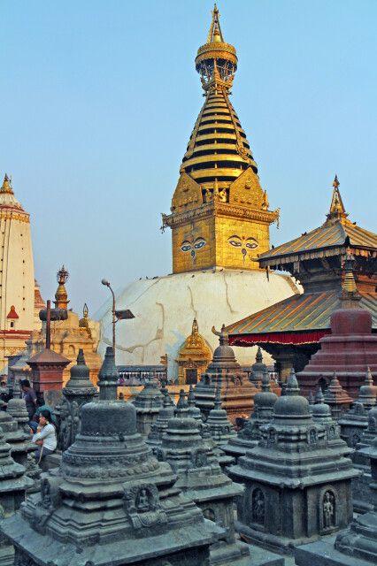 Affentempel in Kathmandu