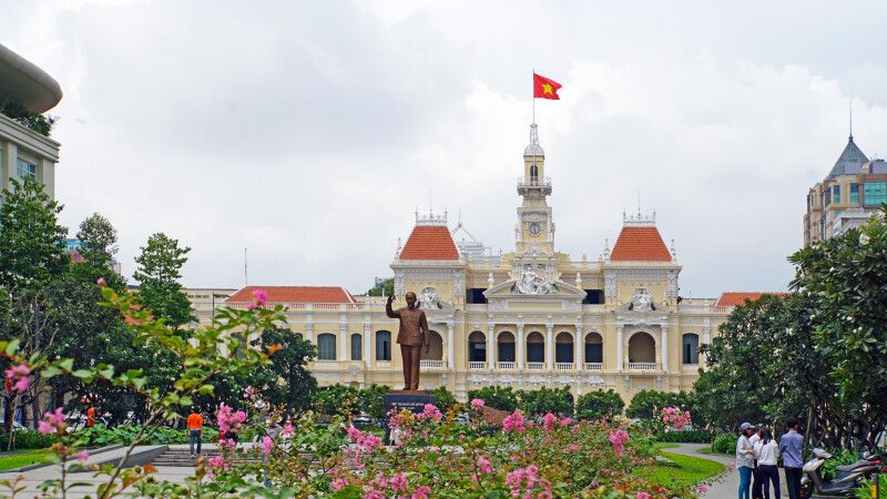 Rathaus in Saigon © Diamir