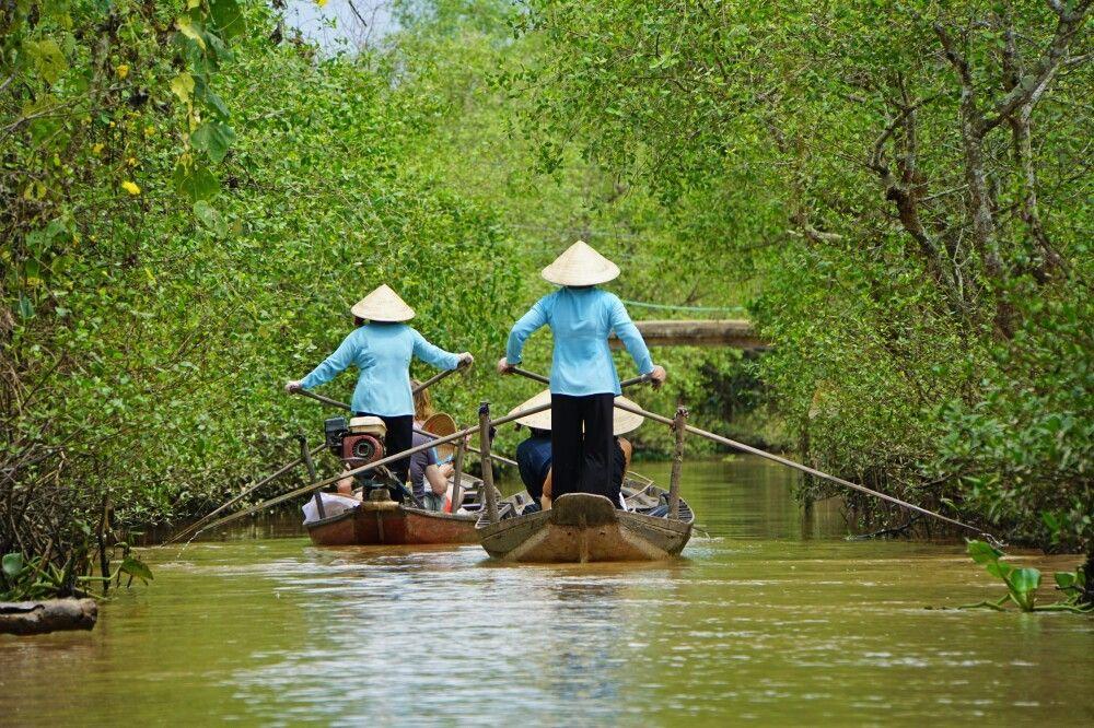 Unterwegs im Mekongdelta