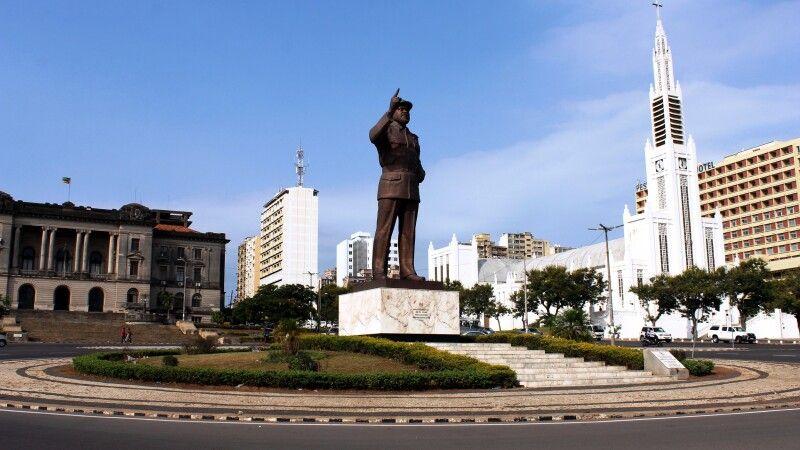 """Praça da Independência"" in Maputo © Diamir"