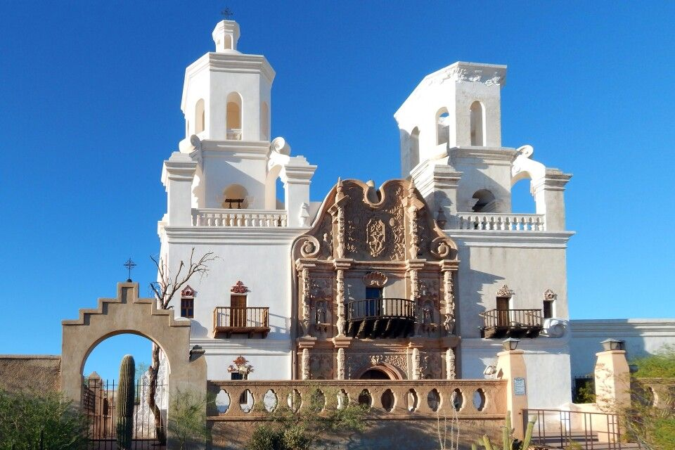 Mission San Xavier del Bac, Tucson, Arizona
