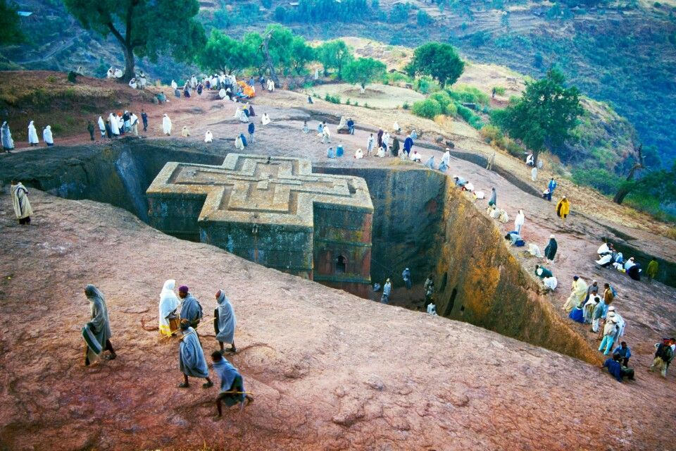 Georgiskirche in Lalibela