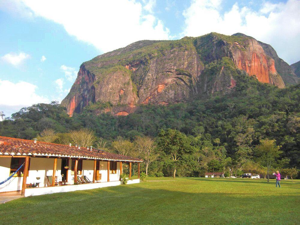 Refugio Los Volcanes im Amboro-Nationalpark
