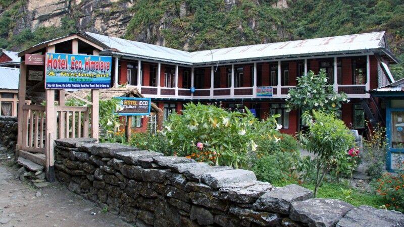 Lodge in Dharapani © Diamir