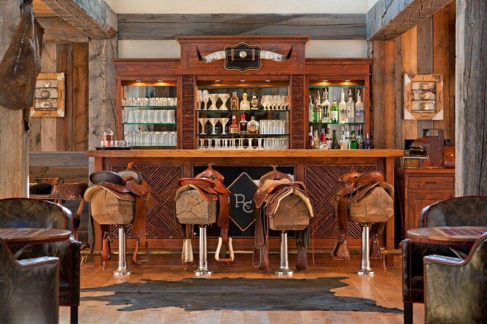 Bar in der Ranch at Rock Creek, Montana