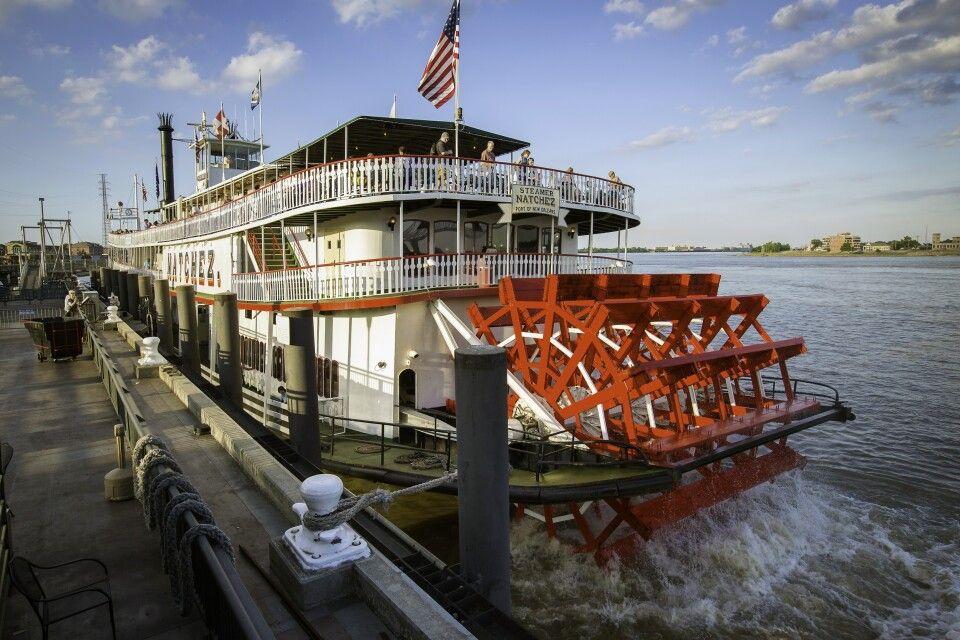 Dampfschiff auf dem Mississippi River
