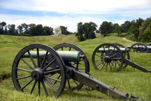 National Military Park in Vicksburg, Mississippi