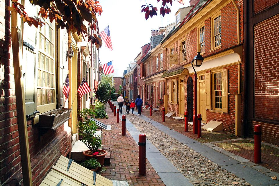 Altstadt in Philadelphia