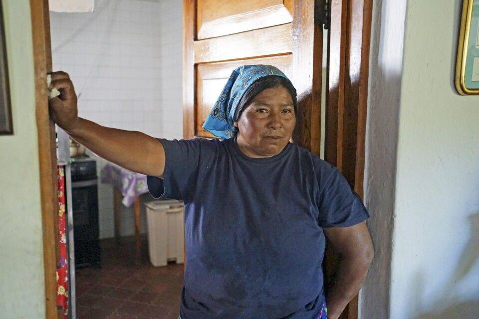 Frau der indigenen Ethnie der Tarahumara
