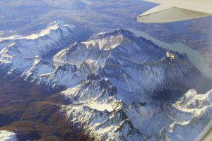 Überflug über das beeindruckende Paine-Massiv