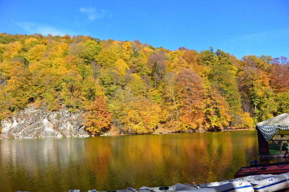 Herbst pur in der Nähe von Dilijan