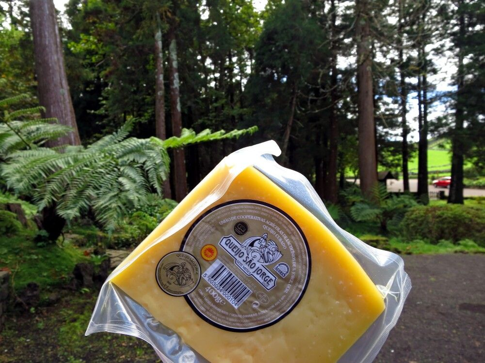 Der berühmte Käse von São Jorge