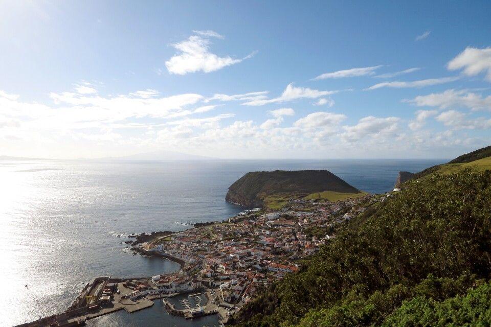 Velas - die Inselhaupstadt von Sao Jorge