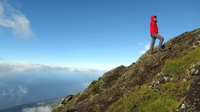 Bei der Besteigung des Pico © Diamir