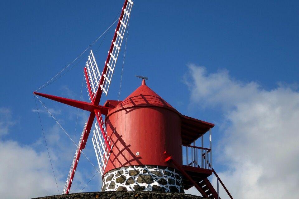Die berühmten Windmühlen von Pico